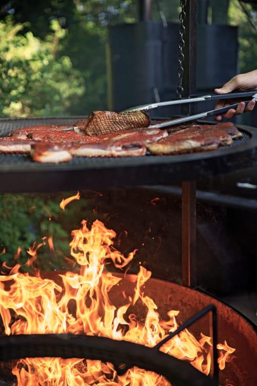 Marquage des magrets cuits au BBQ Lyon