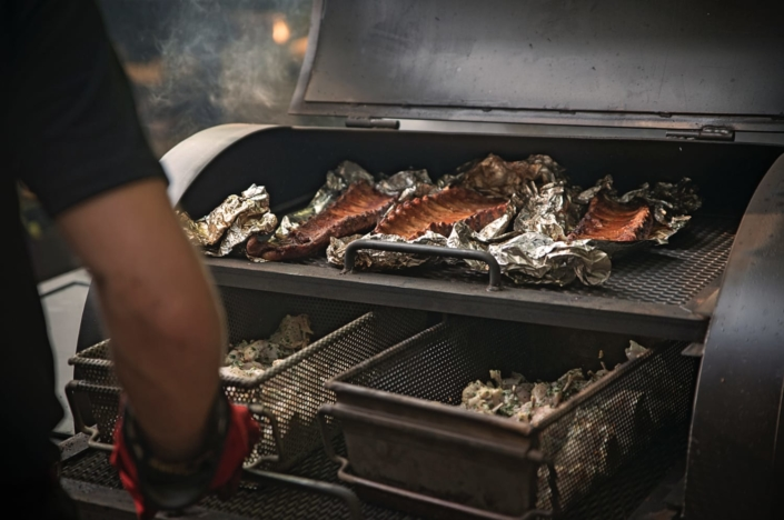 RIB'S cuit au smoker